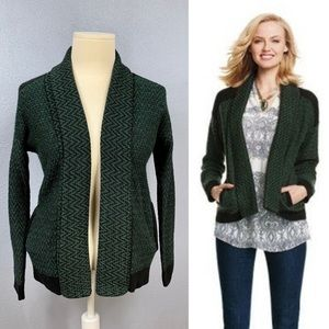 CAbi 3015 Fireside open cardigan sweater size L